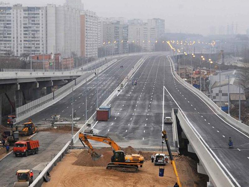 В Москве к 2019 году планируется построить более 250 км дорог