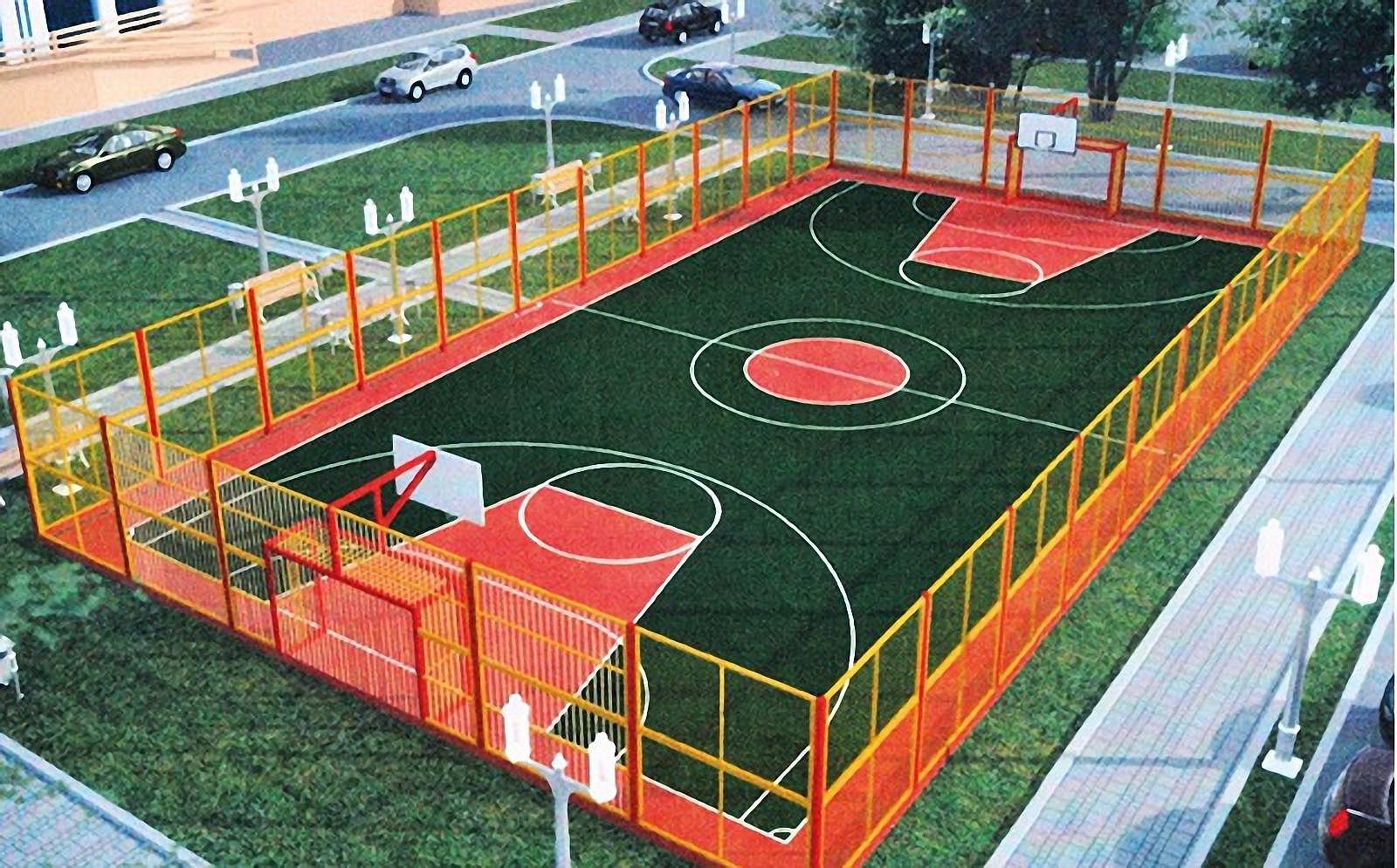 Спортивная площадка в своем доме